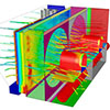 Design and CFD simulation of a radiator